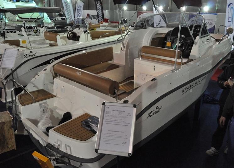 Das Inoian Sun 600 ist ein Konsolenboot mit Kabine von Karel Boats aus Griechenland