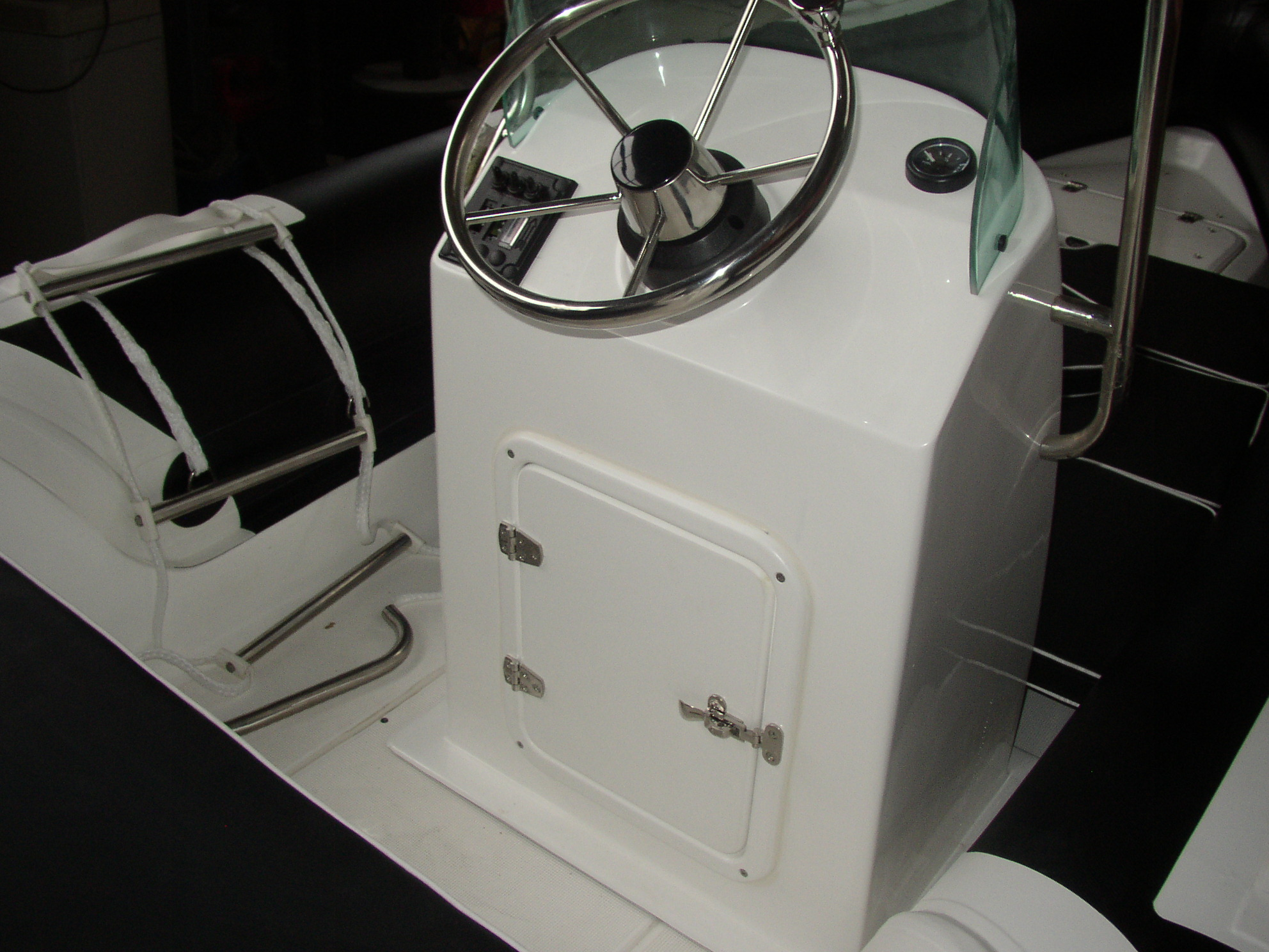 HP-470 Grau / Grau mit Aluboden
