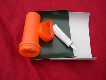 Flickzeug für Schlauchboote