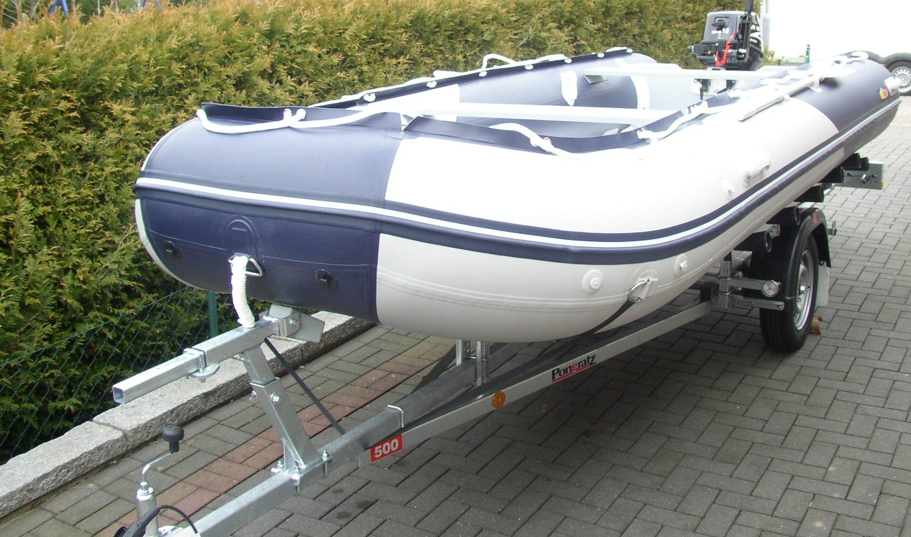 Schlauchboot 470 Blau/ Grau