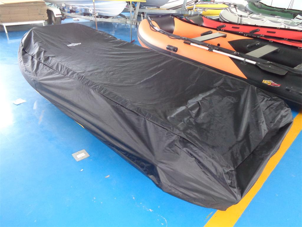 Schlauchboot HP-420 mit beschichteten GFK-Spiegel