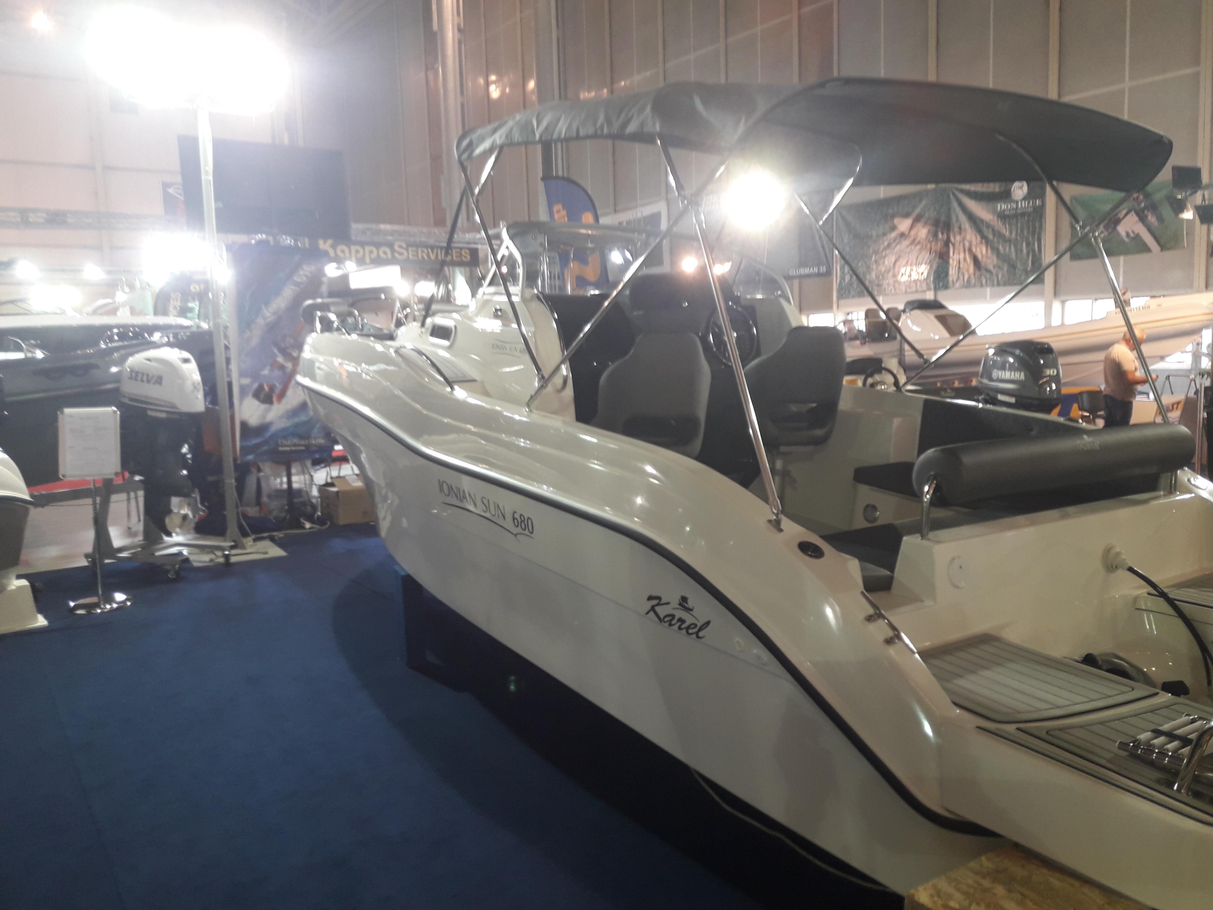 Das Inoian Sun 680 ist ein Konsolenboot mit Kabine von Karel Boats aus Griechenland
