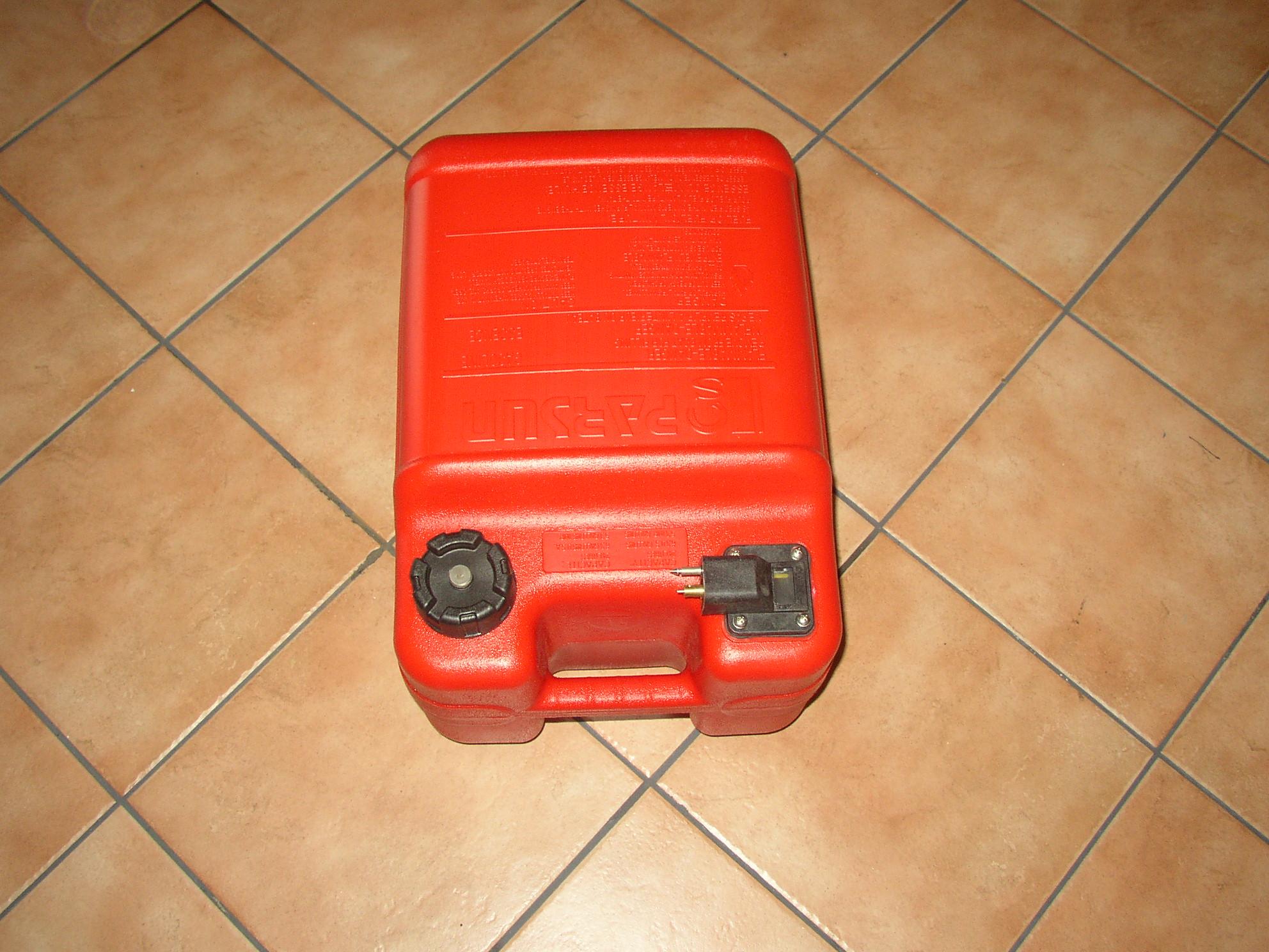 24 Liter Tank