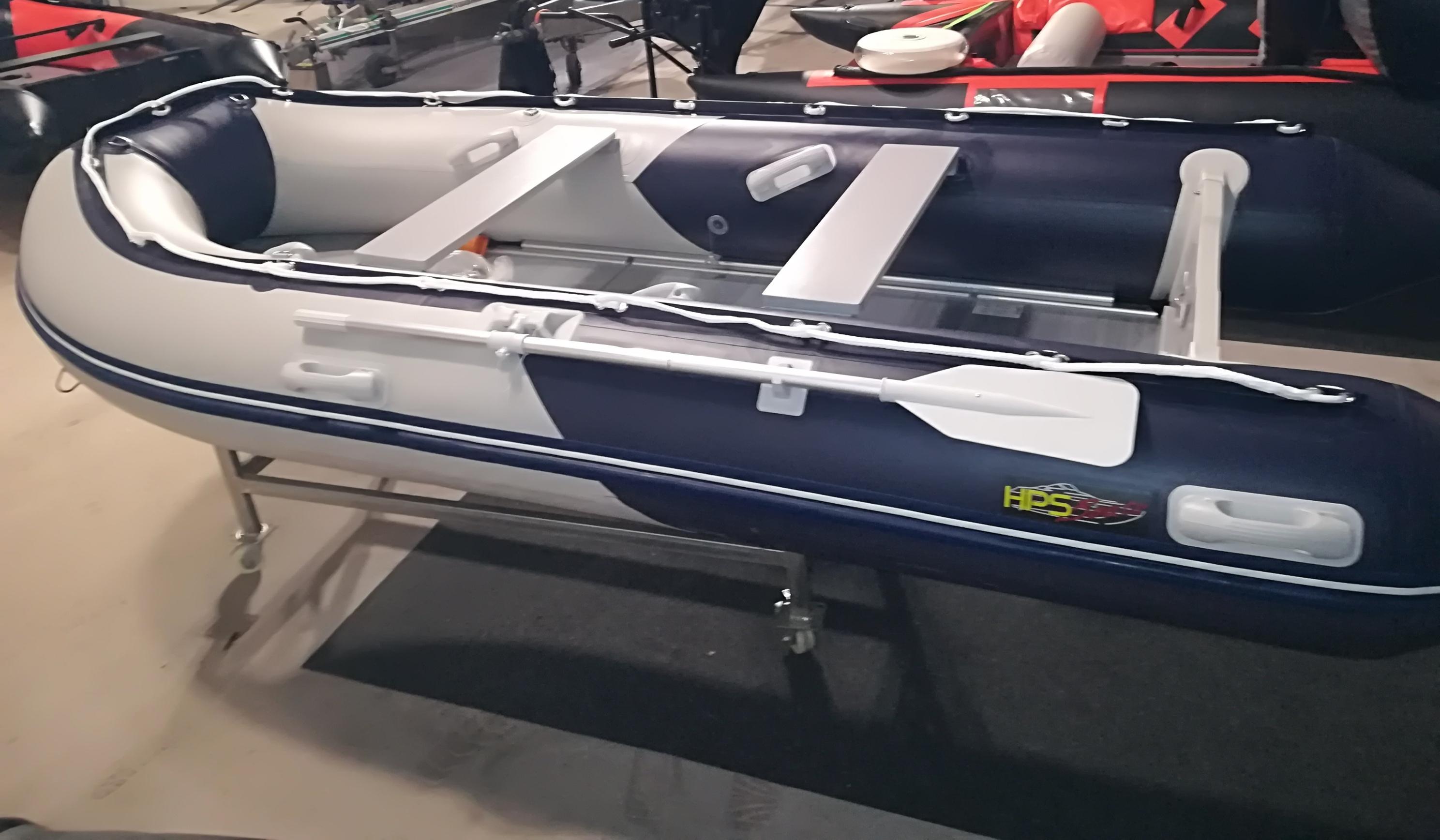 Schlauchboot HP-380 Grau/Blau