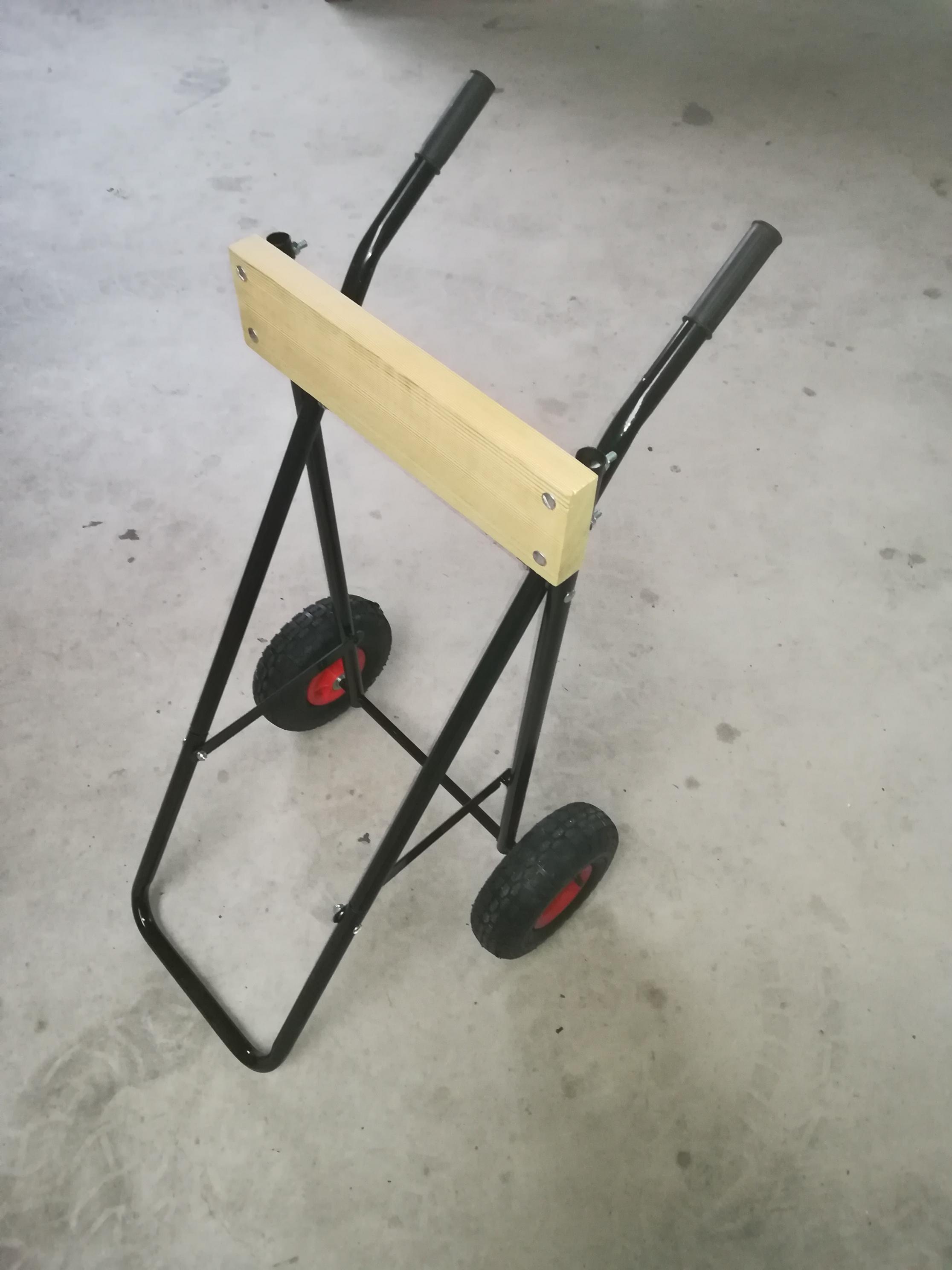 Motorwagen Motortrolley bis 60 Kg mit Lufträdern