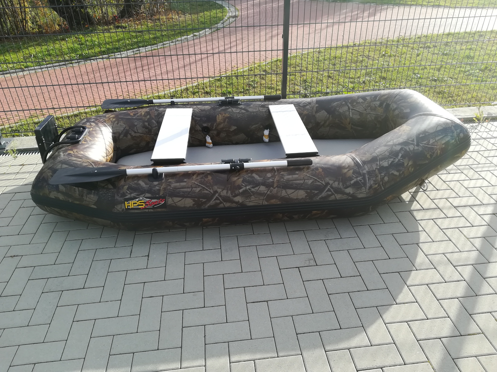 Angelboot, Schlauchboot HPO-300